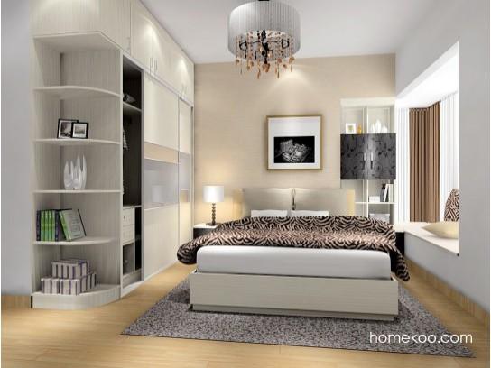 60平米房子装修果图之卧室