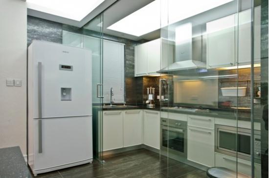 厨房移门装修效果图片(大全)