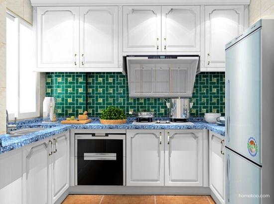 小户型整体厨房效果图