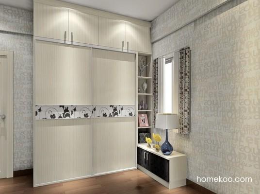 带柱子的房间,衣柜如何定制