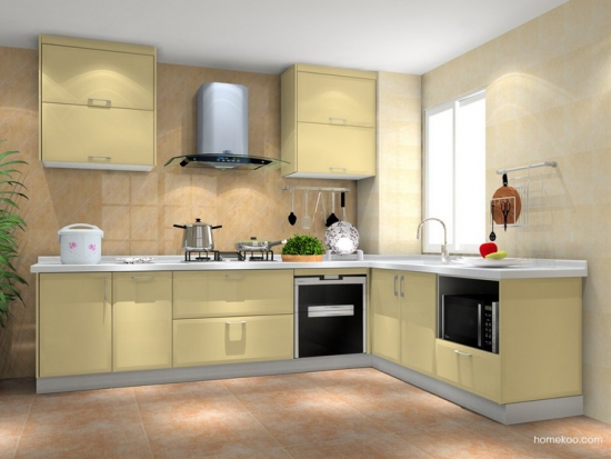 厨房橱柜效果图
