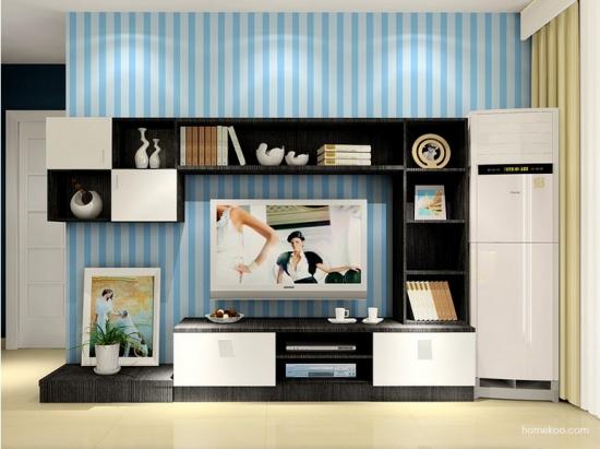 此款电视组合柜实用性较强,不仅仅可以摆放电视,装饰物,书,摆件,还可图片