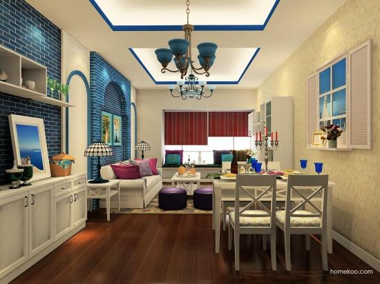 30平米客厅装修效果图