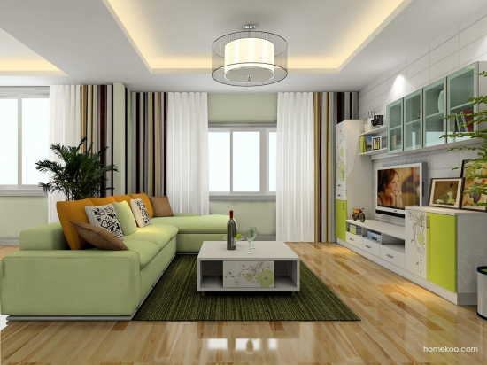 小客厅装修效果图 打造经济适用之家