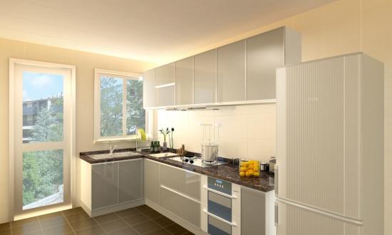 厨房吊柜如何安装图片