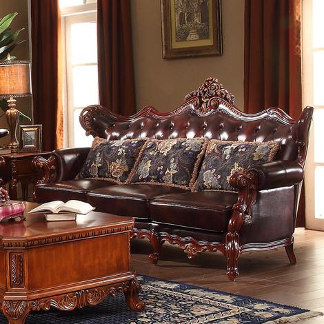 如何选择真皮沙发  沙发效果图