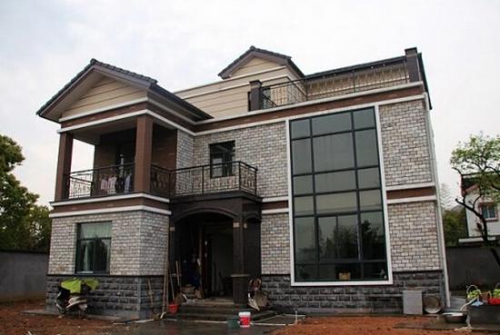 乡村别墅 外墙瓷砖 装修 不可忽视