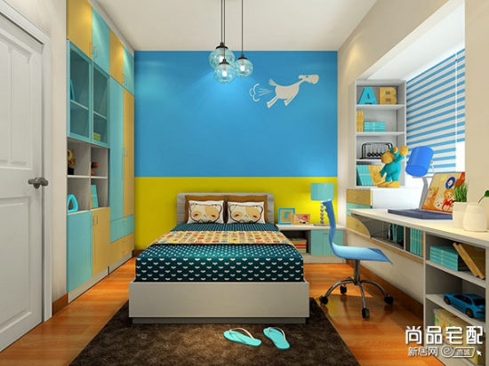 2015年儿童房设计 突出温馨的主导元素