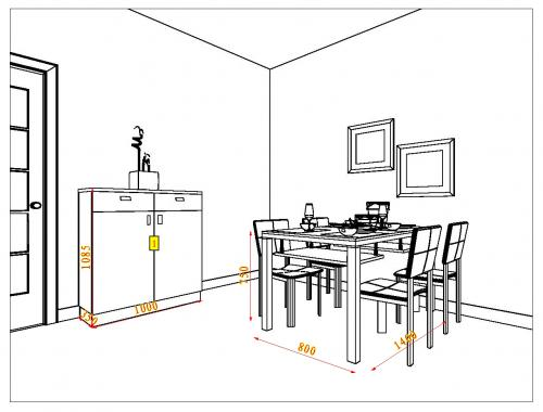 工程图 简笔画 平面图 手绘 线稿 500_380