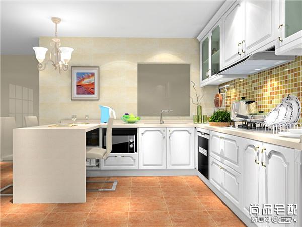 敞开式厨房装修设计