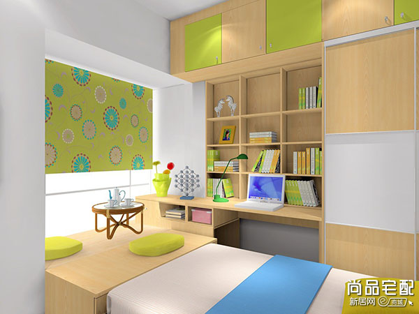 小房间榻榻米床设计