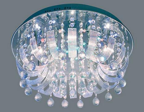 水晶吸顶灯品牌 水晶吸顶灯图片