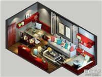 家装涂料效果图装修设计