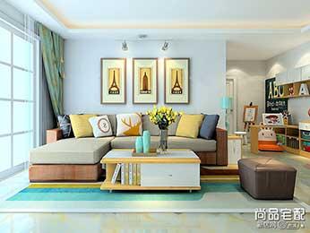 客厅吊顶筒灯分布间距及数量