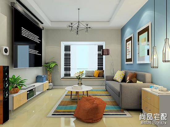 客厅吊顶效果图设计