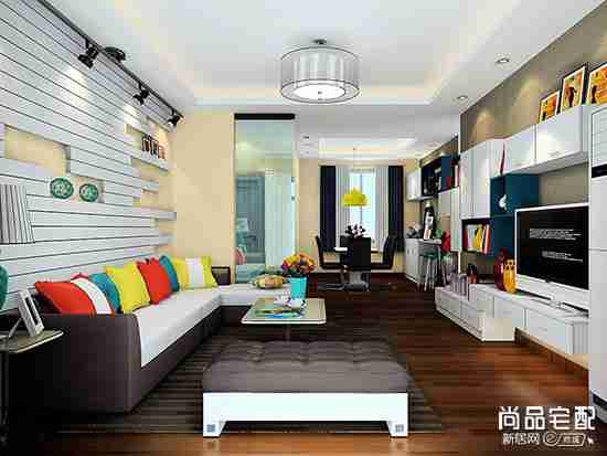 客厅吊顶筒灯安装数量及间距高度